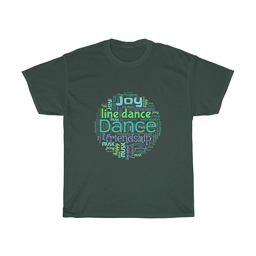Line Dance Joy Cotton Tee