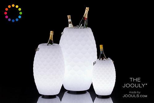 """Weinkühler mit Sound und LED """"50"""""""