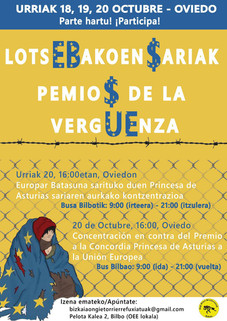 LotsEBakoen sariak/ Premios de la vergUEnza