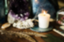 sacred space still life with amethyst ca