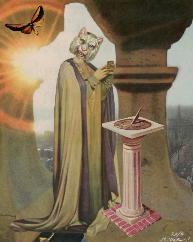 朝焼けの魔術