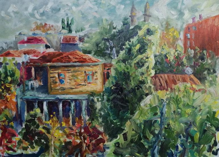 Evin Penceresinden Manzara