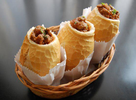 Comida de boteco - Buraco quente de picadinho