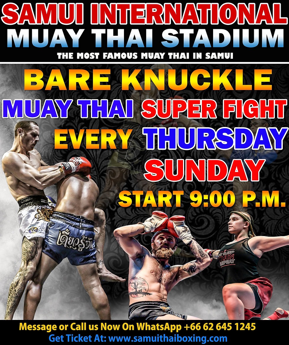 Samui boxing stadium ticket