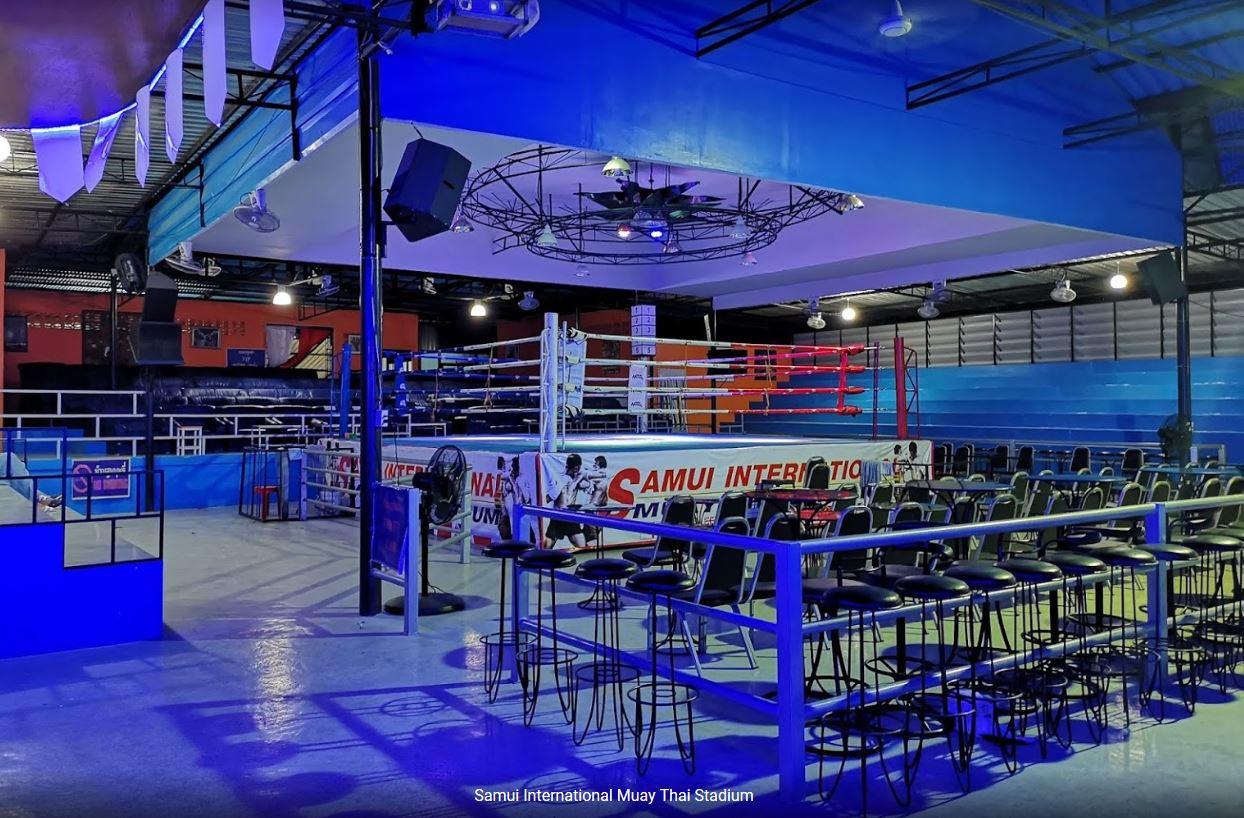 Samui International Boxing Stadium Seati