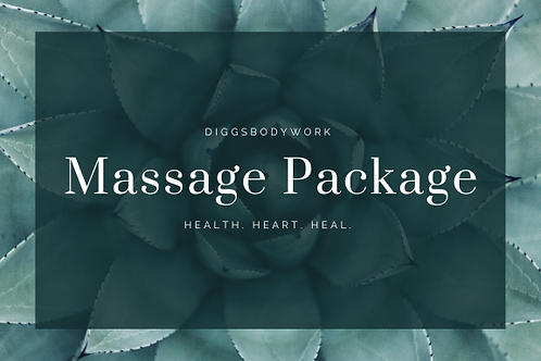 Massage package- 10 Hour and a half Massages