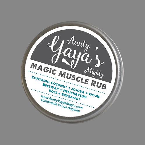 Aunty Yaya's Magic Muscle Rub 1 oz