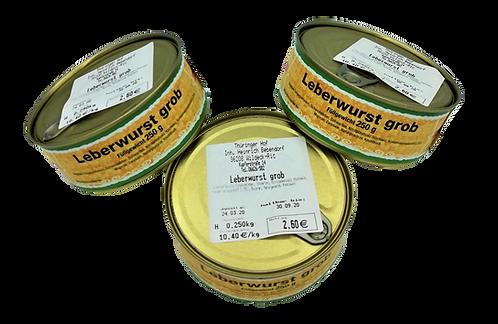 Grobe Leberwurst - 250 g