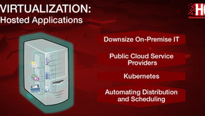 Virtualization: Hosted Services - Applications (AWS)