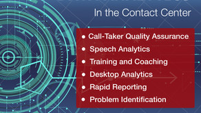 Data Analytics:  Applications for the Contact Center