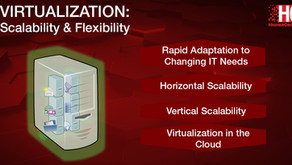 Virtualization: Flexibility and Scalability