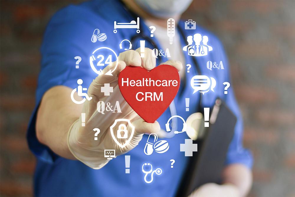 Healthcare CRM, create positive customer experience