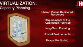 Virtualization: Capacity Planning