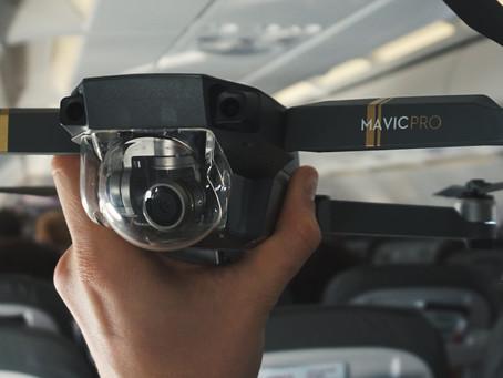 So transportierst Du Deine Drohne an Bord eines Flugzeugs