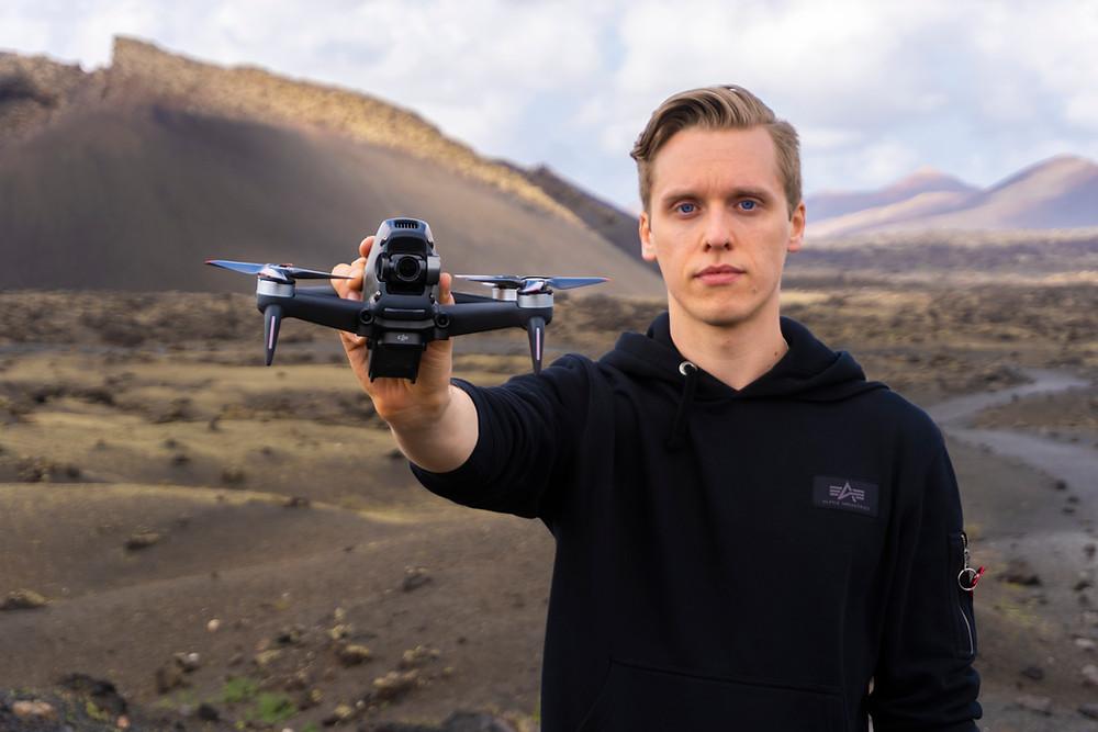 DJI FPV Drone, Tom David Frey, Tom's Tech Time