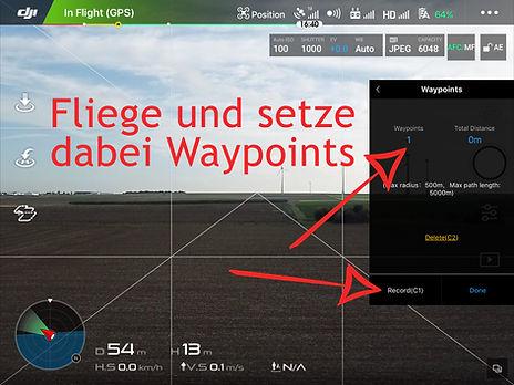 DJI Waypoints Anleitung