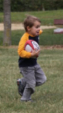 Rugby Eagles Luxembourg - Kid having fun