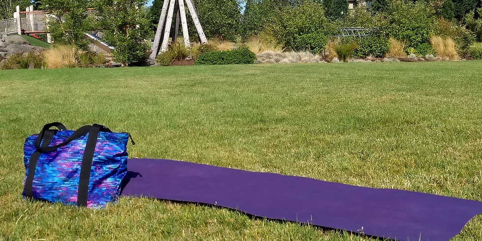 Yoga in the Park 7/4/21 🌳
