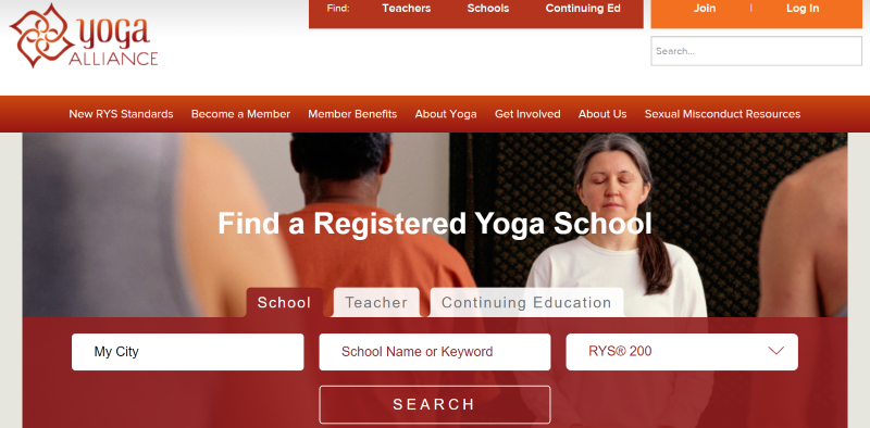 Search Yoga Alliance's vast database of certified schools and YTT programs.