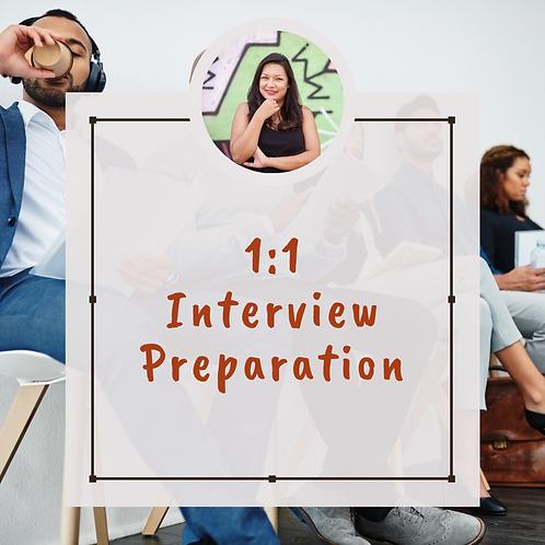 1:1 Interview Prep