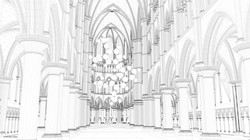 Opium Cathedral wireframe