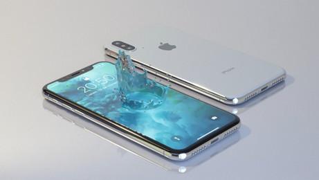 iPhone RF crown splash test