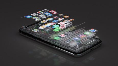 iPhone AR Glitch Effect