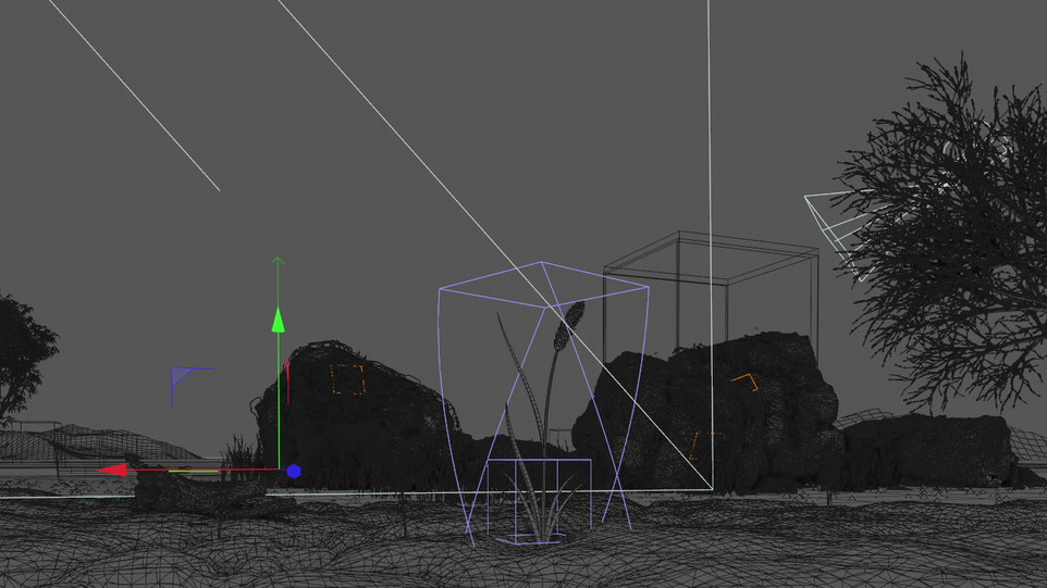 Light the new year wireframe