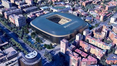 New Bernabéu stadium