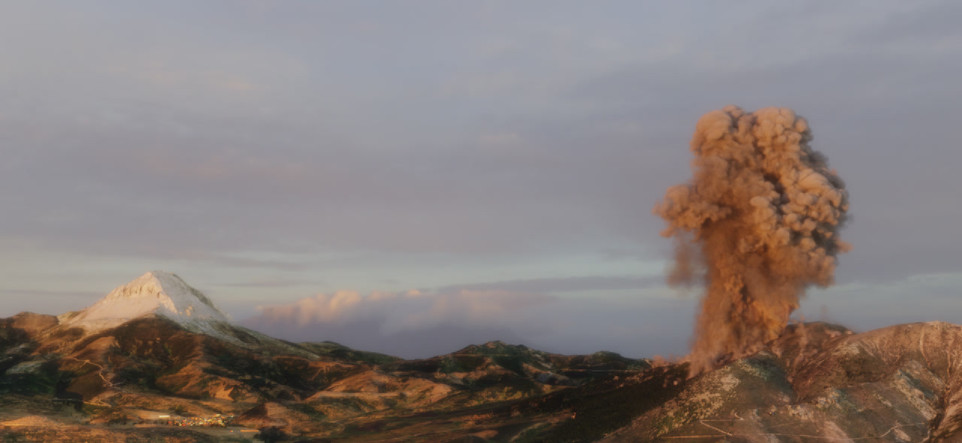 Arbillos Eruption 1