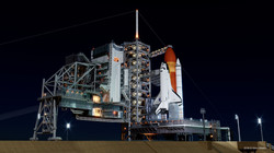 Kennedy Space Center Launch Complex_nigh