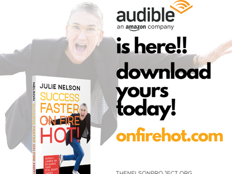 Audible is HERE!!!