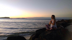 Om by the sea