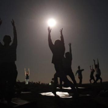Full Moon Yoga Hike