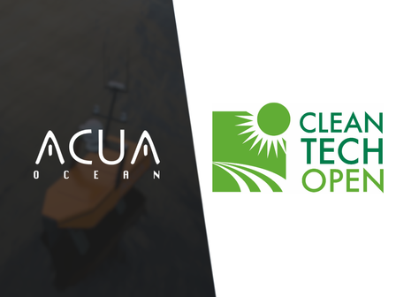 ACUA Ocean join CleanTech Open, the world's largest cleantech accelerator