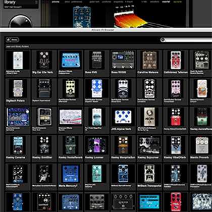 Guitar Pedal IR Pack for Altiverb