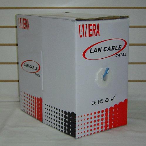Rollo de cable UTP Cat5e anera 305m para cctv