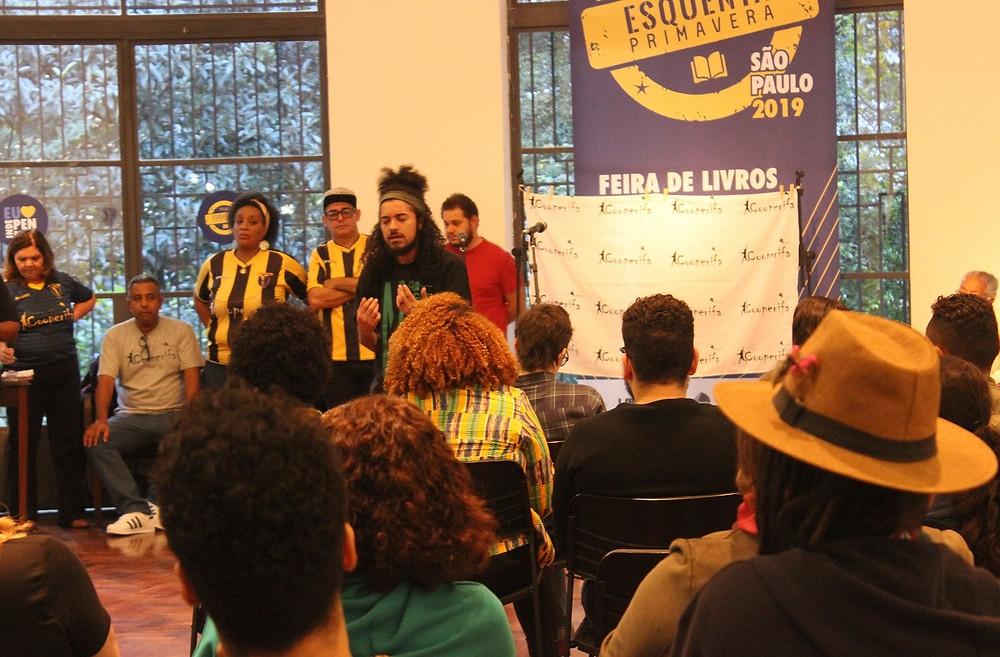 Poetas da Cooperifa no Esquenta da Libre