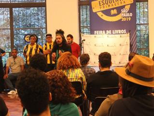 Poesia falada e professores ganham mais espaço na Flip