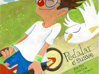 Livro infantil aborda de maneira lúdica a importância do respeito aos ciclistas