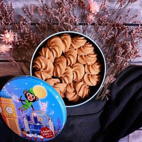 火星猴子綠茶曲奇餅