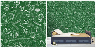 wall paper for kids chalkboard