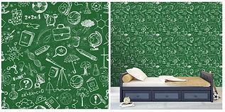 wall paper for kids chalkboard