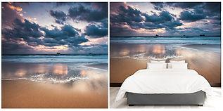 wallpaper beach seaview clouds sea