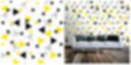 wallpaper geometric shapes pattern