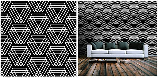 wallpaper geometric shapes pattern