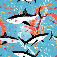 wall paper for teenagers sharks