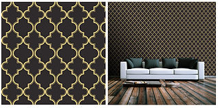 wallpaper geometric shapes black