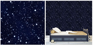 wall paper for kids with stars night skies