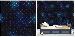 wall paper for kids stars night skies